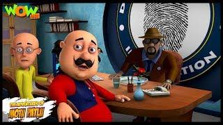 Motu Patlu New Episode | Hindi Cartoons For Kids | Motu Patlu In Detective Agency | Wow Kidz