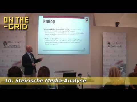 Social Media vs. Classic Media - Peter Plaikner 10. Steirische Media-Analyse, On The Grid Ep. 101