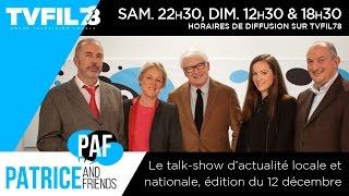 PAF – Patrice and Friends – 12 décembre 2014