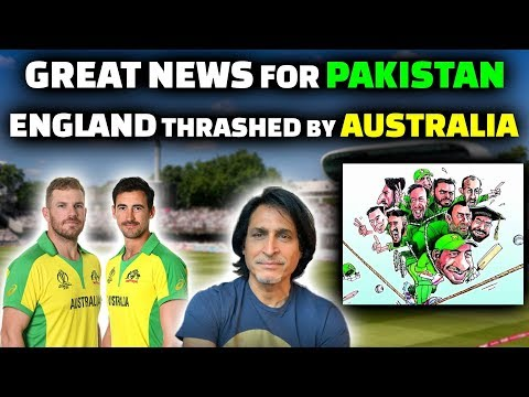 GREAT NEWS for PAKISTAN | ENGLAND Thrashed By AUSTRALIA