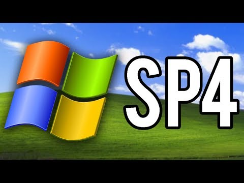The Windows XP Unofficial Service Pack 4! - Overview & Demo