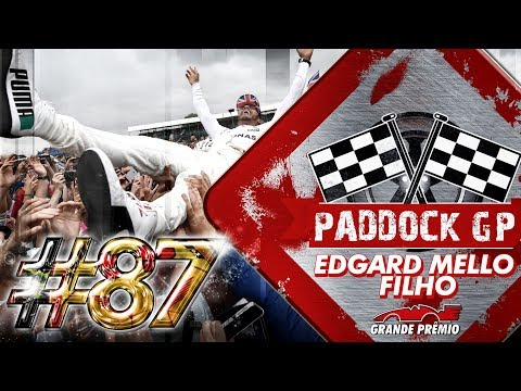 Paddock GP #87 com Edgard Mello Filho