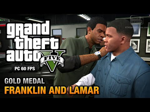GTA 5 PC - Intro & Mission #1 - Franklin and Lamar [Gold Medal Guide - 1080p 60fps]