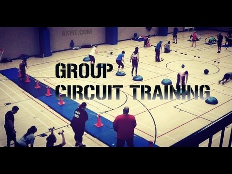 Bootcamp Circuit Training - Exercise Ideas