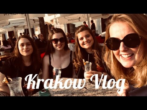 KRAKOW POLAND - VLOG - CITY BREAK - GIRLS TRIP
