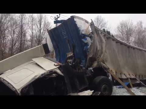 авария трасса Чехов Крсты 9 ноября