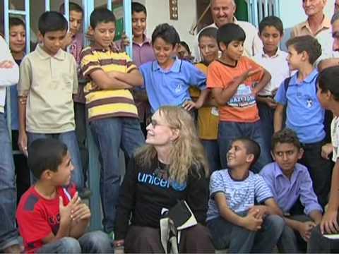 UNICEF: Mia Farrow in Occupied Palestinian Territory