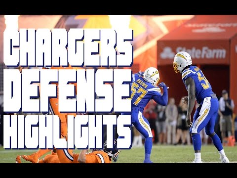 2016 Chargers Defense Highlights