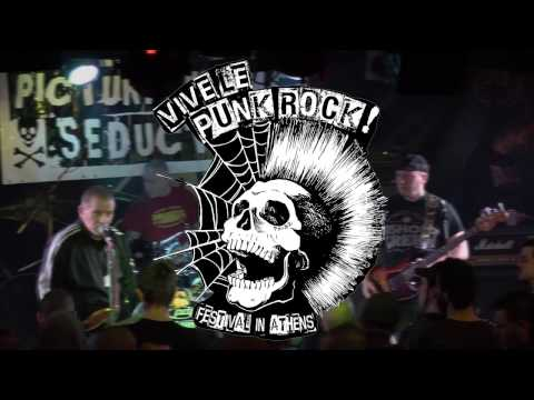 The Oppressed Live at Vive Le Punk Rock Festival in Athens on Feb 6th 2016 (Full Set) (HD)