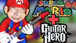 SUPER MARIO 64: 16 STAR SPEEDRUN WITH A GUITAR HERO CONTROLLER