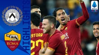 Udinese 0-4 Roma | Smalling Bags First Goal as Roma Smash Udinese | Serie A
