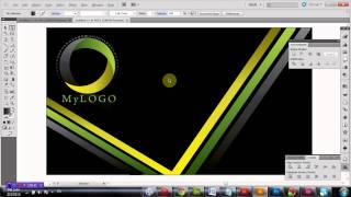 How to Design Business Card in Adobe Illustrator Tutorial