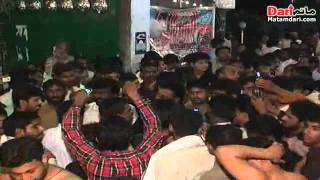 Noha Khawan Mujahid Ali nashad Pursa on 12may basisila shahadat janab e syed s.a at Gujranwala