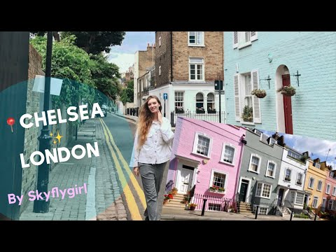 TRAVEL VLOG: RICH PEOPLE OF LONDON. CHELSEA TRIP & WOW HOUSES