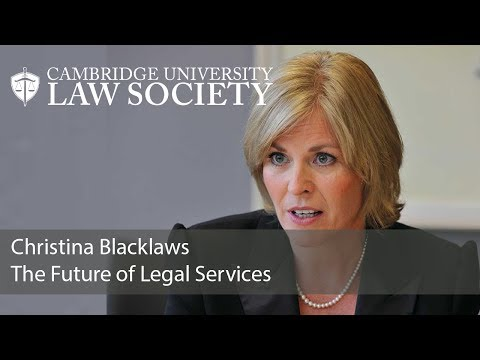 The Future of Legal Services: Christina Blacklaws