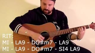 """Tutorial - Come suonare """"Un mondo migliore"""" di Vasco Rossi - chitarra acustica"""
