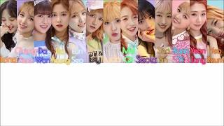 [3.27 MB] COSMIC GIRLS (WJSN) - B.B.B.Boo LYRICS [COLOR CODED HAN|ROM|]
