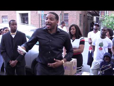 Mogul Jay Morrison teaches wealth building on Atlanta street corner! (Corner Class)