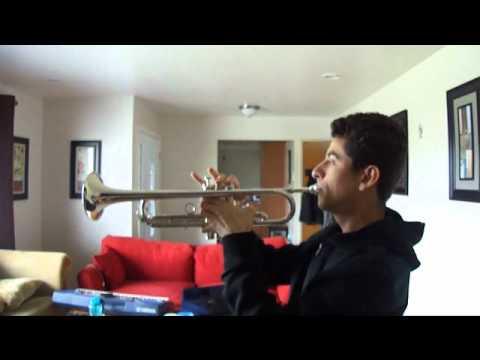 Halo Theme Bb Trumpet Newbie Youtube