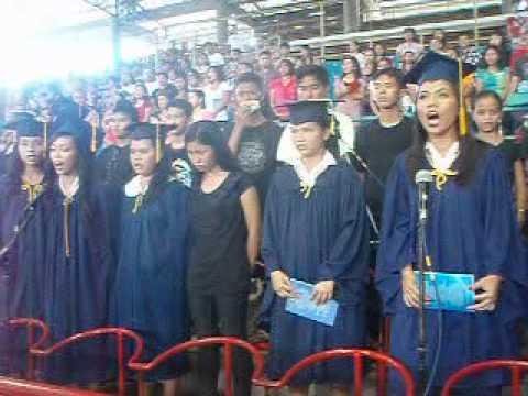 NOHS CHOIR Class of 2012 Singing Garbo sa Kabisay an