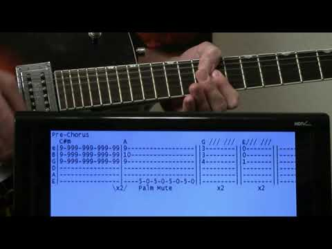 Tommy James & the Shondells I Think We're Alone Now Guitar Chords Lesson with Tab