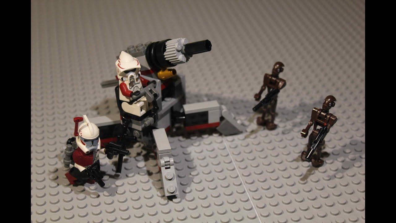 PlayFactory  Star Wars 9488  Elite Clone Trooper & Commando Droid LEGO