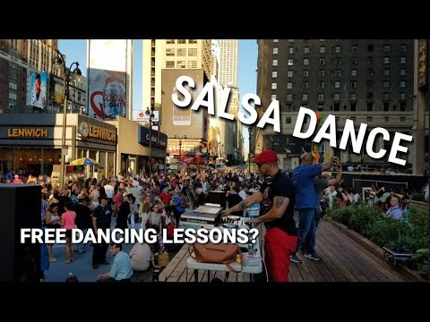 Salsa Dance in NYC? - Plaza 33 Outdoor Activities | Manhattan