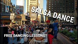 Salsa Dance in NYC? - Plaza 33 Outdoor Activities   Manhattan