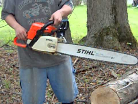 029 stihl with 039 super engine and other components - YouTube