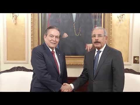 VIDEO: RD y Panamá renuevan lazos de amistad: Danilo Medina ofrece cálido recibimiento en Palacio Nacional a presidente electo, Laurentino Cortizo