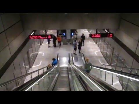 Copenhagen - Public Transport - Christianshavn Metro Station (M1 and M2) 2015 07 31