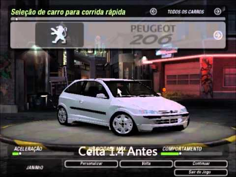 carros brasileiros para need for speed underground 2
