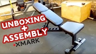 Opening and Assembly of the XMark Fitness FID Dumbbell Weight Bench - XM-9010