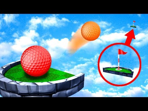 Can You Make The HOLE IN ONE LONG SHOT? - Golf It