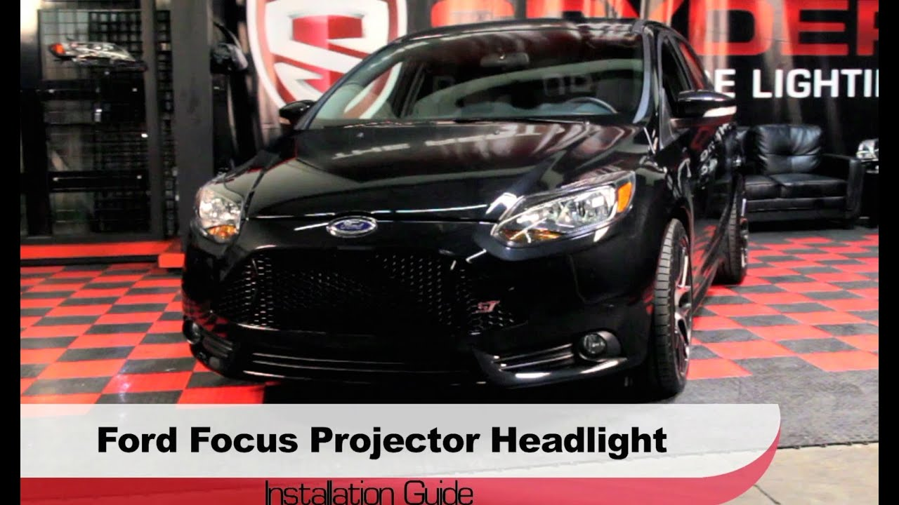 Spyder Auto Installation 2012 14 Ford Focus Projector