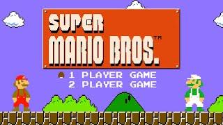 Super Mario Bros - Full Game Walkthrough