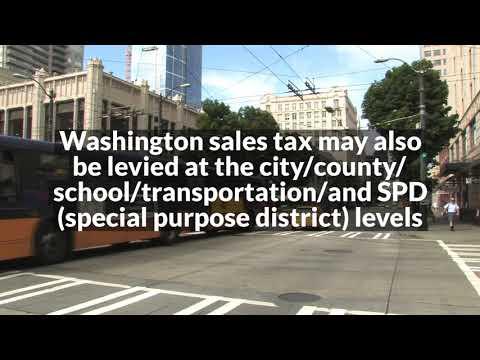 Washington state sales tax 2018 seattle