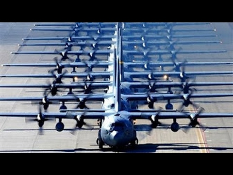 WORLDS LARGEST Regular Military Aircraft Training Exercise US Air Force Red Flag Training Exercise