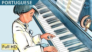 "The Little Pianist: Learn Portuguese with subtitles - Story for Children ""BookBox.com"""