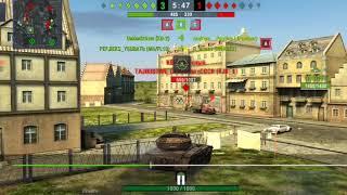 WOT blitz WZ пылающий норм прем танк