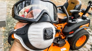 Ultimate Goggle / Mask Combo For Lawn Care Professionals   Peke Safety Filterspec Pro Honest Review