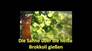 Nouilles de penne aux brocolis et gorgonzola
