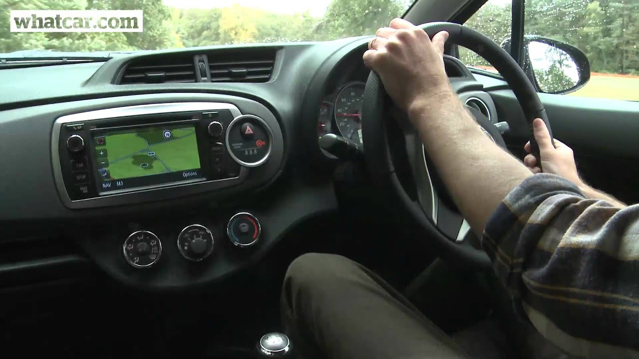 2012 toyota yaris review what car youtube