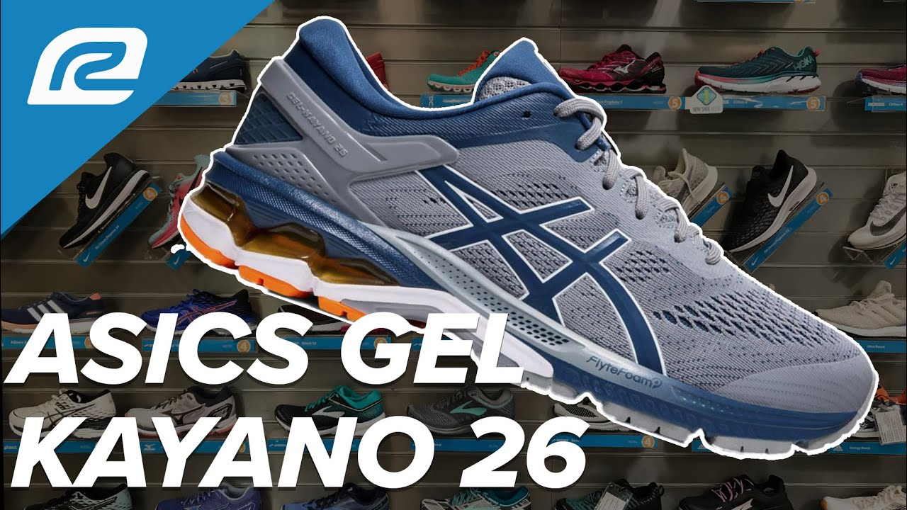 Prefijo comerciante Incidente, evento  ASICS Gel Kayano 26 - First Look | Shoe Review - YouTube