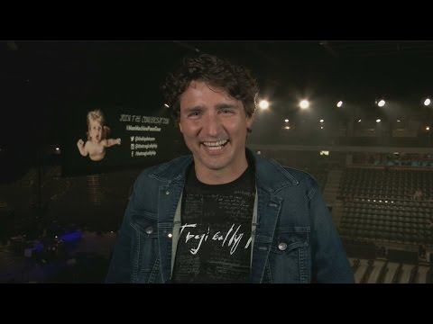 Trudeau says the Tragically Hip is 'anchored in Canada'
