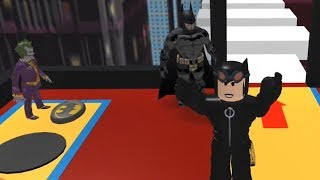 Roblox-I'm Catwoman! It's The 2000's! Live With It! (Batman Obby)!