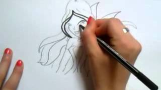 Winx club Flora drawing ♥