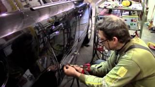 Кузовной ремонт. Дверь, Астра, сапожок. Body repair.(Body repair. Кузовной ремонт автомобилей в гараже. Подробности на моем сайте. http://remontkuzova.blogspot.ru/ Рементируем..., 2016-02-21T16:54:08.000Z)