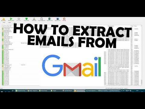 How to Extract Emails From MailBox (Gmail