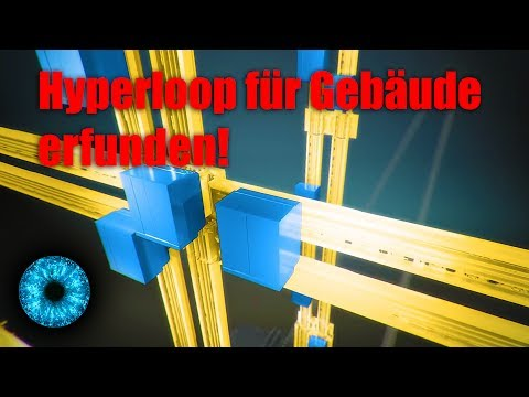 Hyperloop für Gebäude erfunden! - Clixoom Science & Fiction